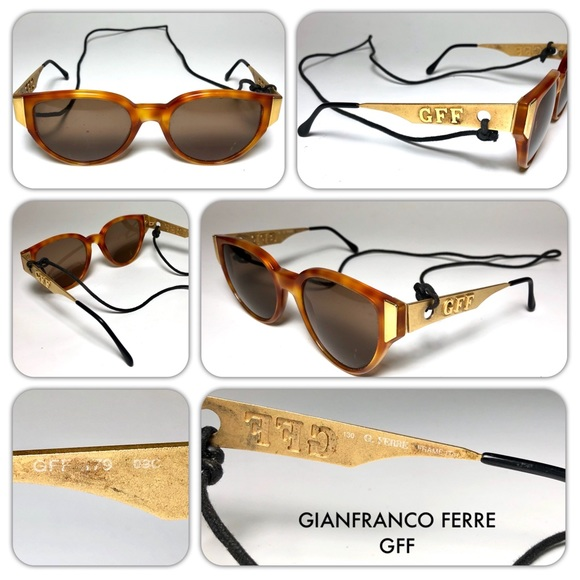Gianfranco Ferre Accessories - Vía franco Ferre GFF Unisex Sunglasses